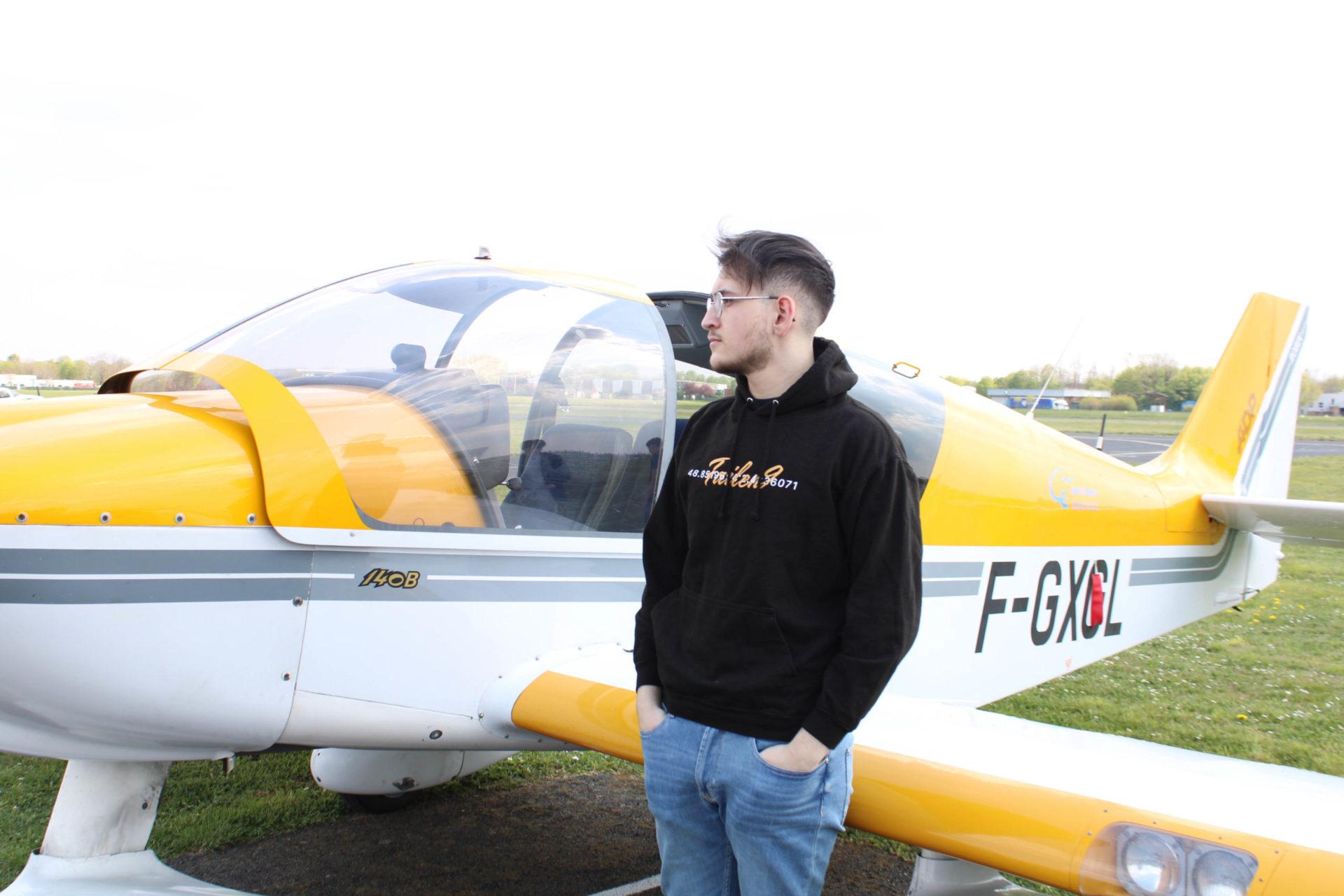 Photo avec le hoodie